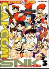 CAPCOM VS.SNK #3 4-koma Manga Show Stadium Manga Japanese/Anthology