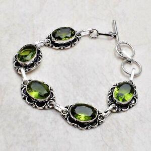 Peridot Ethnic Handmade Bracelet Jewelry 17 Gms AB 22633