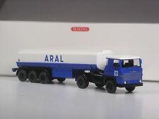 Klasse: Wiking Scania 111 ARAL Tanksattelzug in OVP