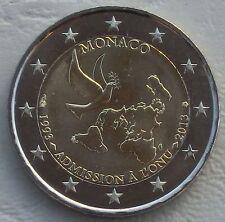 2 Euro Monaco 2013 20 Jahre UNO-Mitgliedschaft unz