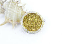 1 Pot Gold Fine Dust 008 Glitter Nail Art Eye Shadow buy 3 + 3 free/ shipping