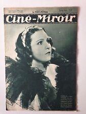 CINE MIROIR N°469 30 MARS 1934 MARIE BELL