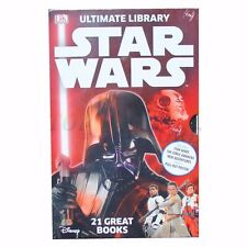 Star Wars Ultimate Library: The Force Awakenes 21 Books + A Pull Out Poster