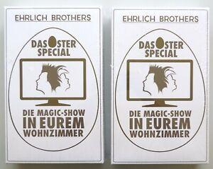 2 x Neu & OVP - Ehrlich Brothers – Das Oster Spezial – NP 89,95 €