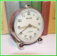 Soviet Vintage Slava Alarm Clock USSR 1980's~Perfect Condition #2112203