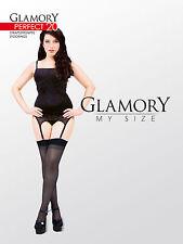 GLAMORY PERFECT 20 - Strapsstrümpfe - Gr. 40-62 schwarz, rot
