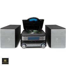 Bookshelf Cd Player Stereo System Home Am Fm Radio Mini Shelf Mico Compact Small