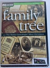 Create Your Family Tree CD-ROM Master Genealogist Siver UK Edition PC Software