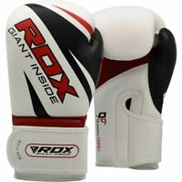 RDX F10 Training Boxing Gloves Training & Muay Thai Maya Hide Leather Mitts