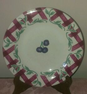 Princess House Orchard Medley Accent Salad Plate