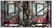 HALLOWEEN ZOMBIE BANNER HORROR PARTY HANGING DECORATION POSTER