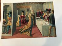"""National Gallery of Art, Gozzoli """"Dance of Salome"""" Print, 11"""" x 14 1/2"""" (Paper)"""