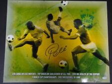 Pele Brazil Signed 16x20 Photo Autograph Auto Steiner