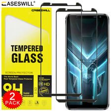 For ASUS ROG Phone 3 Strix Caseswill FULL COVER Tempered Glass Screen Protector