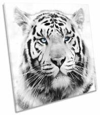 Canvas White Animals Art Prints