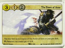 A Game of Thrones LCG - 1x The Power of Arms  #S200 - Westeros Draft Pack