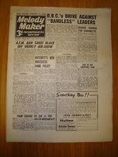 MELODY MAKER 1946 #651 JAZZ SWING MUSIC SQUADRONAIRS