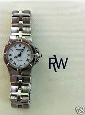 Raymond Weil Parsifal Stainless Steel Sapphire Watch Swiss Quartz # 9471