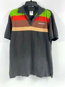 Burger King Employee Uniform Polo Shirt Size Medium Unisex