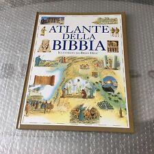 Vintage#. ATLANTE DELLA BIBBIA Illustrato Da BRIAN DELF