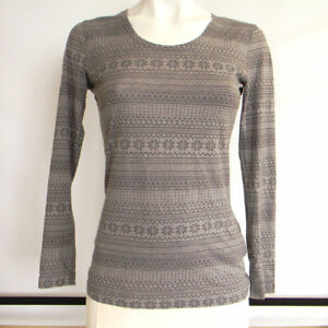 32 Degrees Heat 1-Pack Women's Base Layer Long Sleeve Top Gray Size S