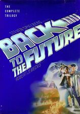 Back to the Future: The Complete Trilogy DVD 3-Disc Set Full Frame MICHAEL J FOX