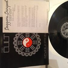 """THE CULT REVOLUTION 12"""" SINGLE - WITH PRESS RELEASE - BEGGARS BANQUET"""