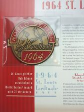 St Louis Cardinals 1964 World Series Patch Willabee Ward Champions Collection