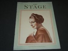 1933 JUNE THE STAGE MAGAZINE - JUDITH ANDERSON- GREAT PHOTOS & ADS - ST 26