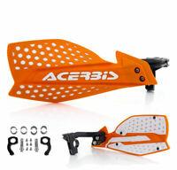 Acerbis Handguards Enduro MX Handprotektoren X-Ultimate orange weiss