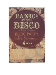 Panic At The Disco Poster Bloc Party Panic!