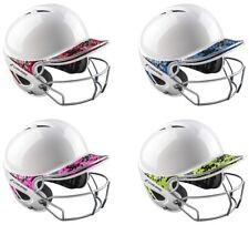 Champro Sports ADULT Two-Tone Gem Gloss Camo Batting Helmet w/ Mask & Chin Strap