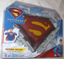 Superman Hero Gear, Cape, Chest Shield, Plastic Chain, Fits Age 3 - 7, Mattel