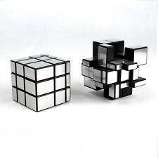 New Silver 3x3x3 ShengShou Mirror Bump Magic Cube Twisty Puzzle Smooth 3x3 Cube