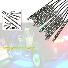Car Motorcycle One Tow Twelve Chassis 12 Atmosphere Lamp Bar RGB Decorative Set