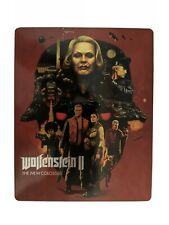Wolfenstein 2 The New Colossus Steelbook (No Game) (Includes Manual)
