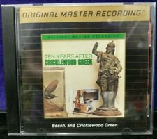Preowned  OMR Ten Years After Ssssh. & Cricklewood Green 24K Gold Plated CD