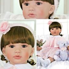 Reborn Baby Girl Doll Realistic Dolls Lifelike Babies Toddler Toys Gifts Silicon