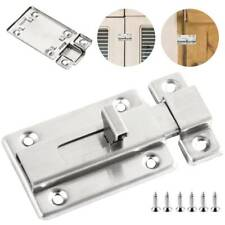 Slide Door Barrel Bolt Bathroom Toilet Shoot Door Dead Lock Sliding Catch Latch