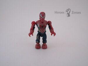 Marvel Mega Bloks The Amazing Spider-Man Set #91346 BATTLE-DAMAGE SPIDER-MAN