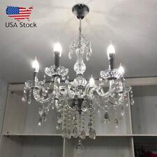 Elegant Crystal Chandelier Modern 6 Ceiling Light Lighting Pendant Fixture Lamp