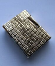 St. Dupont Gold 'checkerboard' Ligne 1 (Small) Lighter - Fully Overhauled