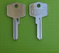 SUITABLE KEY BLANKS for  TRIUMPH  ROVER    MG MINI AUSTIN BEFOR CHIPPED