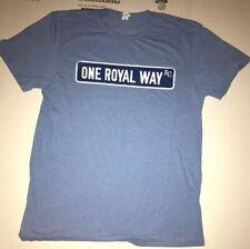 Kansas City Royals T-shirt Size Adult M One Royal Way Mlb Baseball Sga