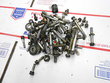 YAMAHA SS433 motor parts out of EXCITER: NUTS-BOLTS from 2 of these motors