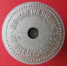 Old Scarce Beer token -Fürth - Humbser-Geismann 1/2 L-10607.3 -mehr am ebay.pl