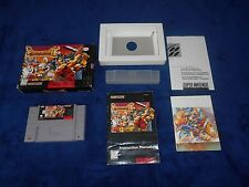 Breath Of Fire II 2 Game Complete Super Nintendo SNES CIB BoF 2