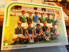 ST VINCENT 4  FDC stamps world cup Mexico 1986