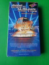 Ride The Movies (VHS) Behind The Scenes - Universal Studios Hollywood NEW SEALED