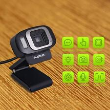 AUSDOM HD 1080P USB 3.0 Webcam Web Camera W microphone Black for PC Laptop US